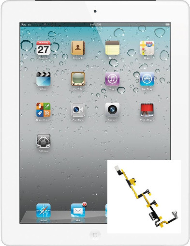 Indianapolis iPad 2 Power Button Repair