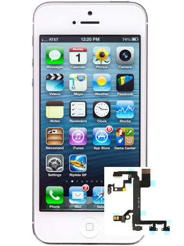 lll iphone 5 Power Button Repair