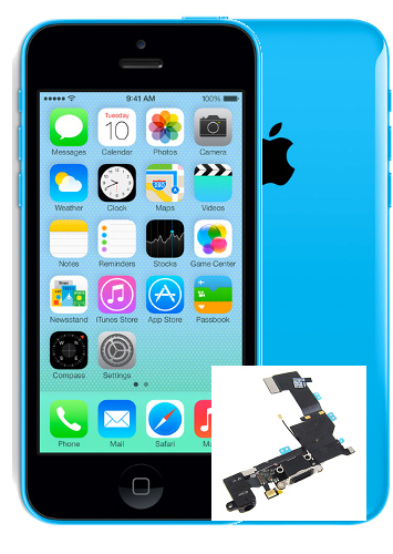 lll iphone 5c Microphone Repair