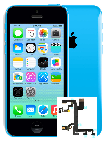 lll iphone 5c Power Button Repair