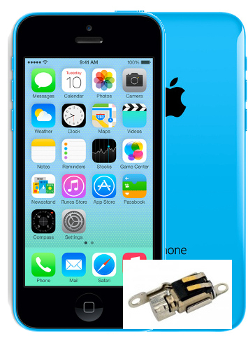 Indianapolis iPhone 5c Vibrator Repair